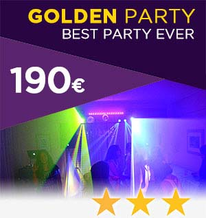 golden party 190