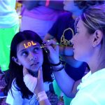 Glow face painter