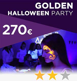 golden halloween party